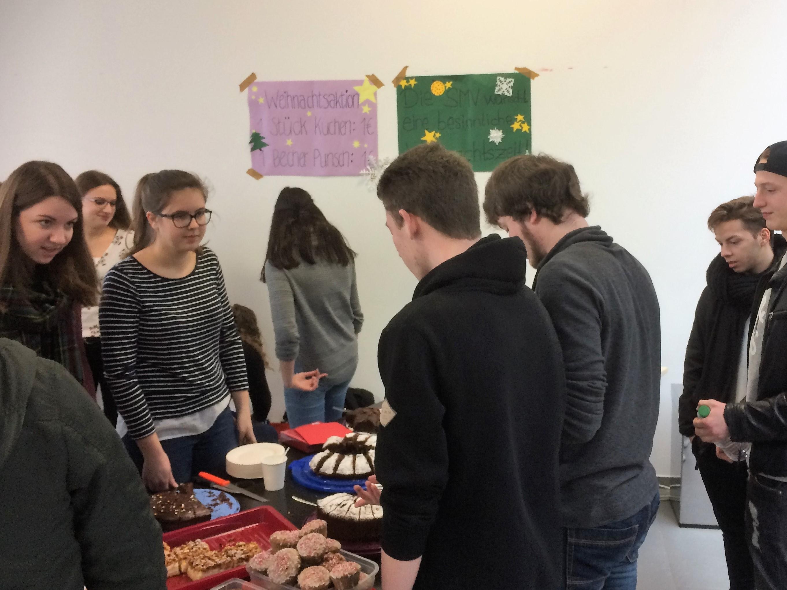 Weihnachtsverkauf der SMV der Berufsschule - Berufsschule, BOS und ...